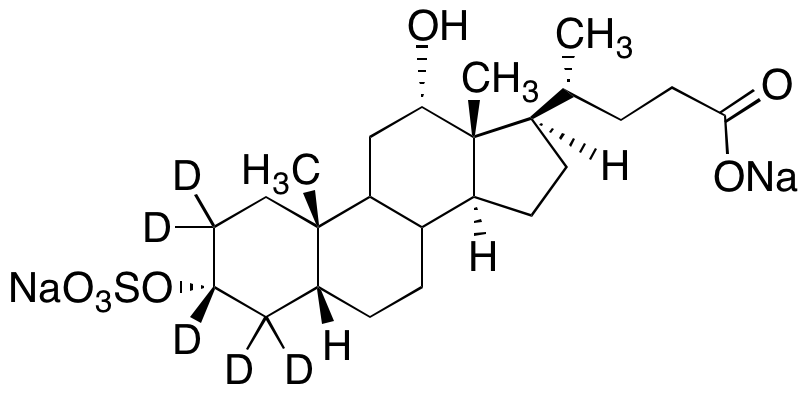 Deoxycholic Acid-d<sub>5</sub> 3-O-Sulfate Disodium Salt