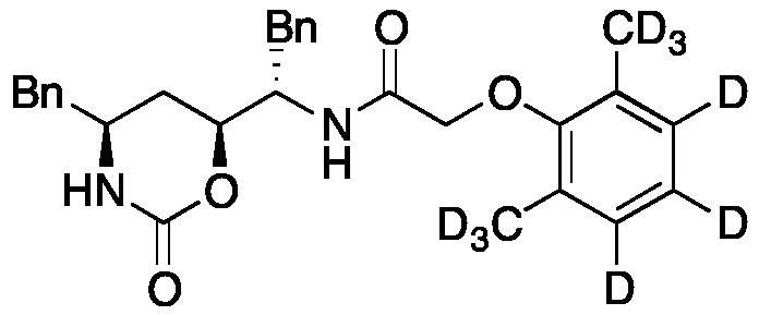 N2-Des(L-valinyl) Lopinavir N2,O<sub>5</sub>-Oxazine-d<sub>9</sub>