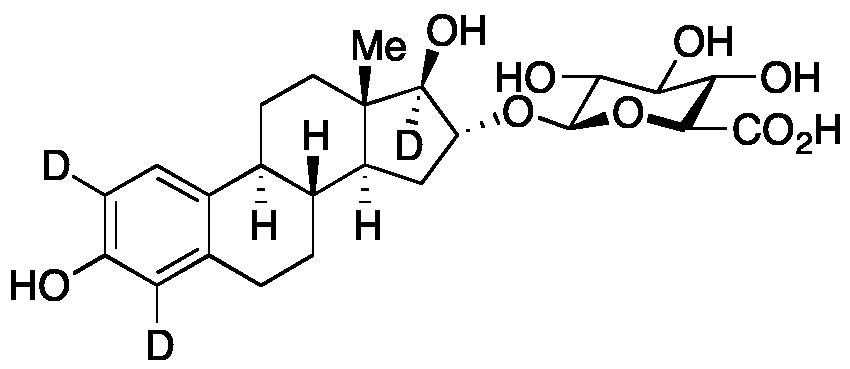 Estriol-d<sub>3</sub> 16-O-β-D-glucuronide