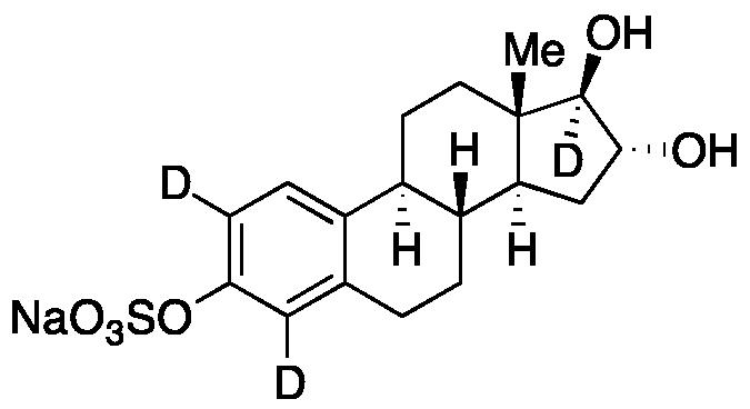 Estriol-d<sub>3</sub> 3-O-Sulfate Sodium Salt